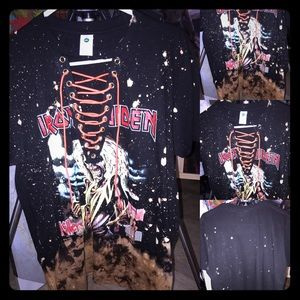 Iron Maiden killers lace up top
